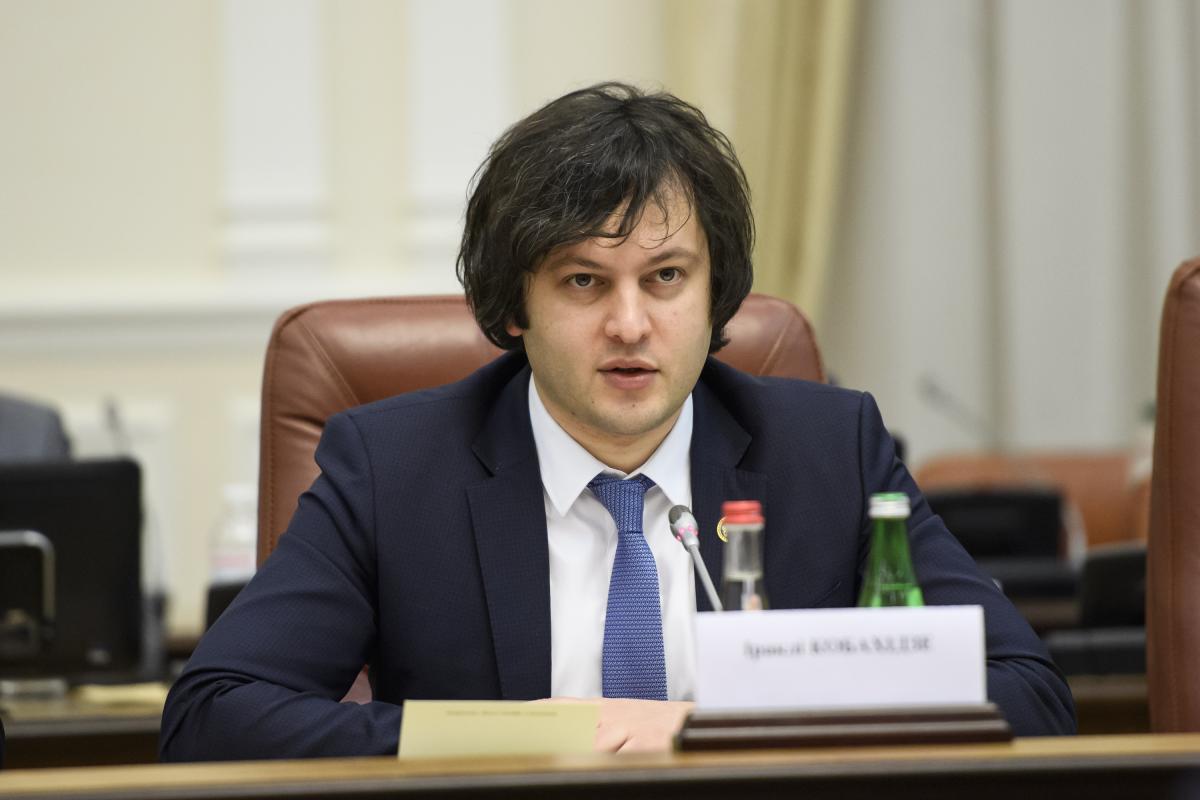 Georgian Parliament Speaker Irakli Kobakhidze / Photo from Wikipedia