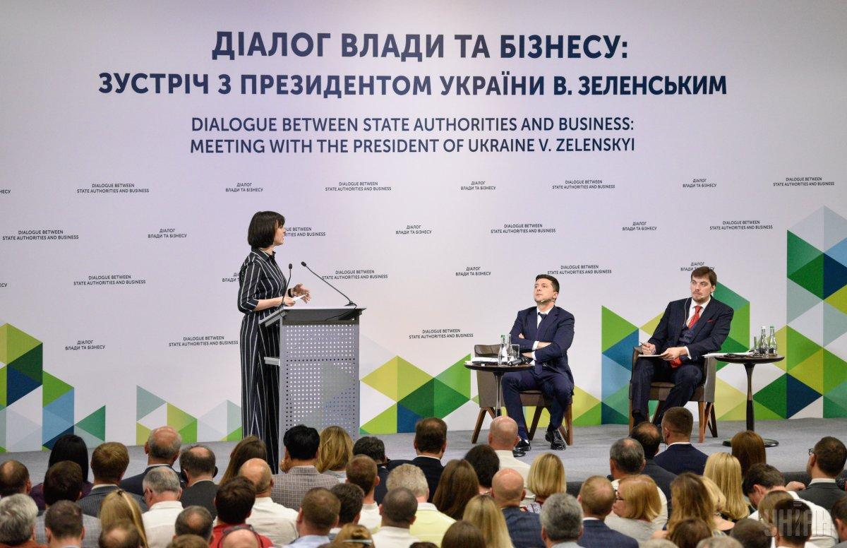 Владимир Зеленский провел большую встречу с представителями украинского бизнеса / фото УНИАН