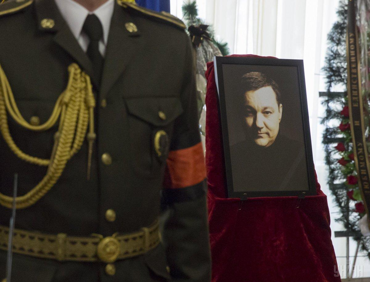 На похороны Тымчука в Бердичеве пришли больше сотни человек / фото УНИАН