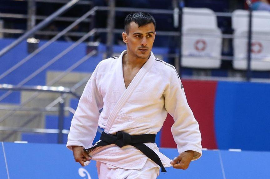 Георгий Зантарая стал лучшим в весе до 66 кг / фото: facebook.com/UkraineJudoFederation