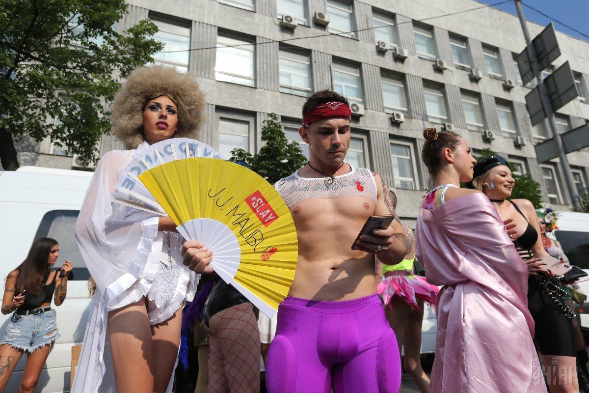 Геї та лесбіянки будуть танцювати на Банковій / УНІАН