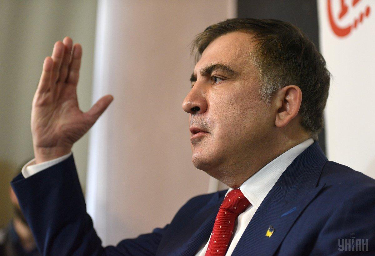 Саакашвили ранее занимал должность главы Одесской ОГА / фото УНИАН
