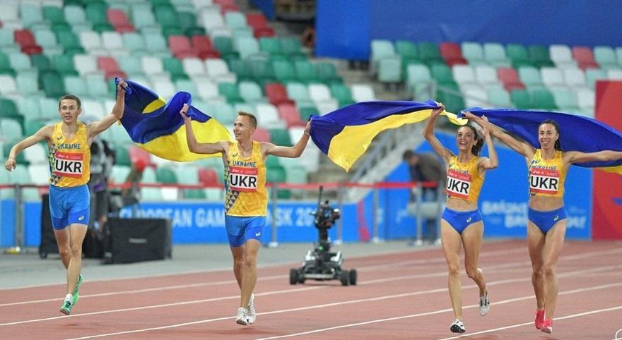 Украинские легкоатлеты выиграли две эстафеты / фото: facebook.com/olympicua