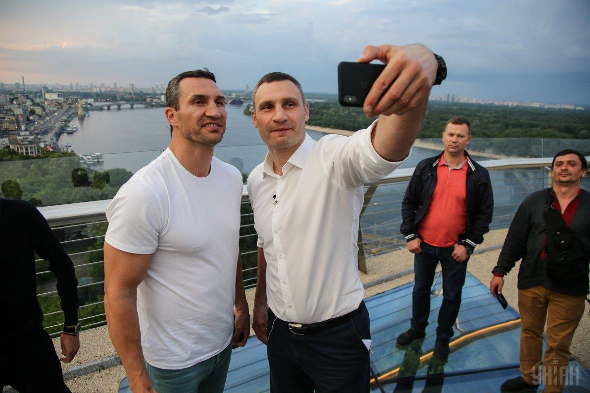 Брати Клички вже завершили кар'єру / фото УНІАН