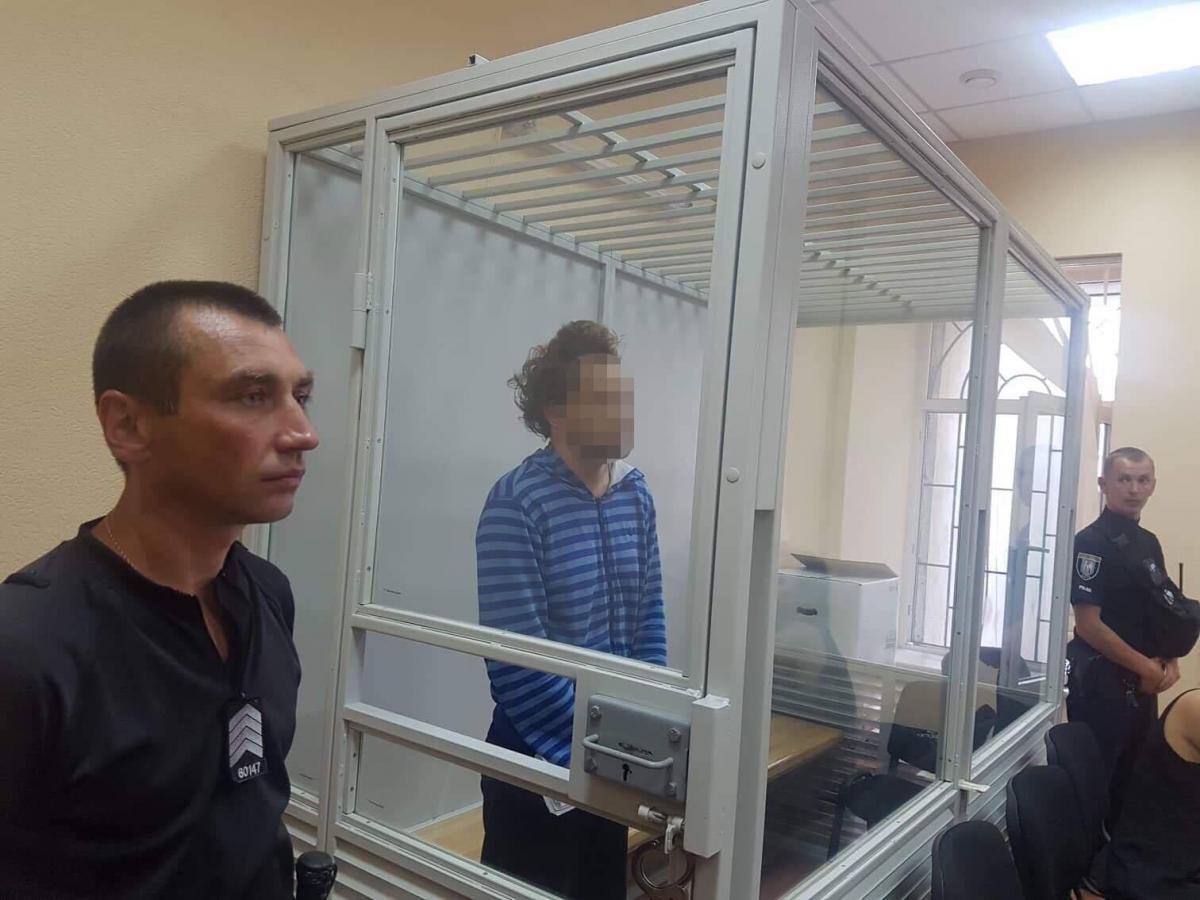 Підозрюваного у вбивстві хлопчика взяли під варту / facebook.com/kyiv.gp.gov.ua