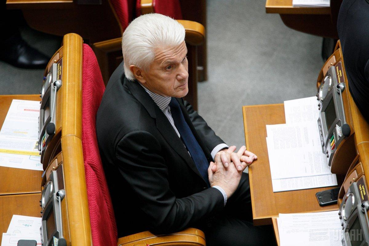 Владимир Литвин проигрывает выборы / фото УНИАН