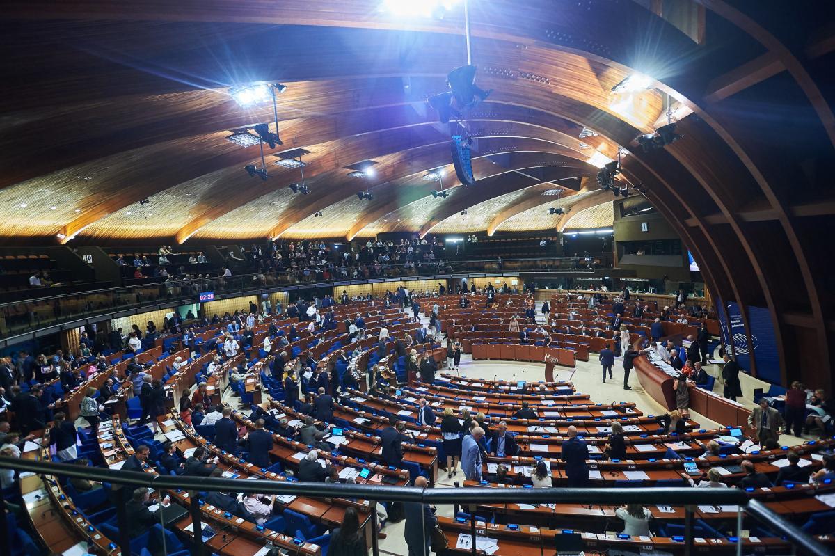 """""""За"""" відповідну резолюцію проголосували 116 парламентаріїв / фото Council of Europe/ Ellen Wuibaux"""