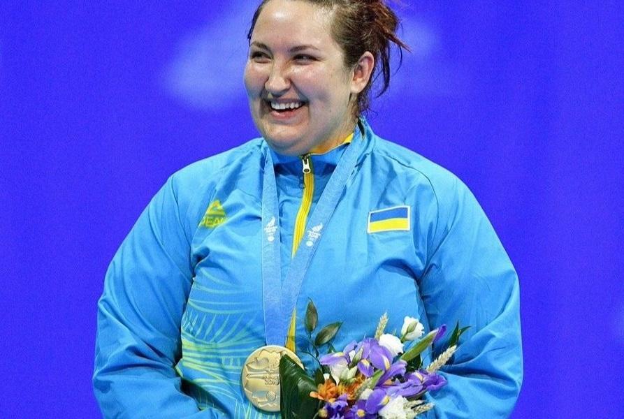 Сапсай завоювала золото / фото: НОК України