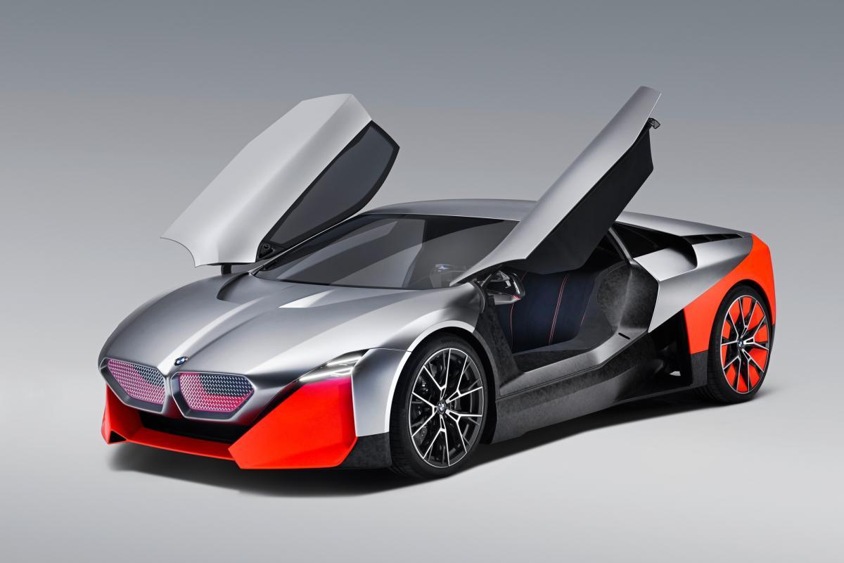 BMW Vision M NEXT — гибридный суперкар с мощностью 600 л.с. / фото BMW