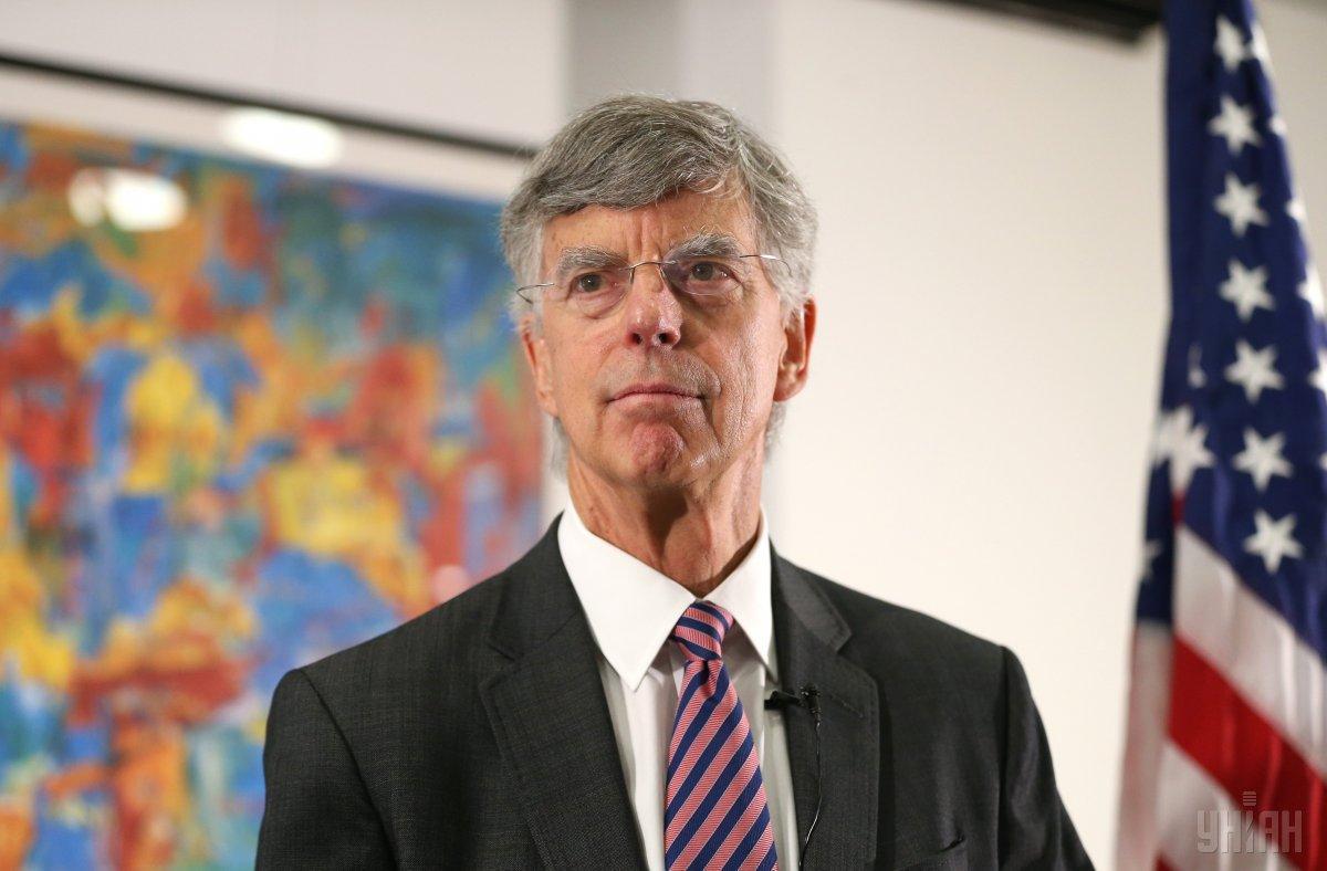 Вільям Тейлор став одним із ключових свідків у розслідуванні в рамках процедури імпічменту Трампа / фото УНІАН