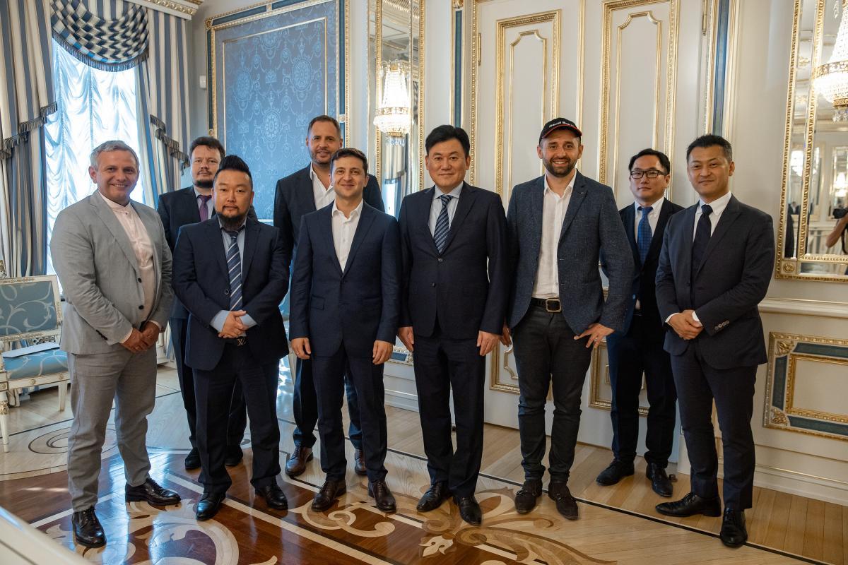 Зеленський запросив засновника компанії-власника Viber увійти до Національної інвестради / фото president.gov.ua