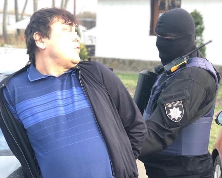 Батира затримали у квітні на Київщині / фото facebook.com/Vyacheslav.Abroskin