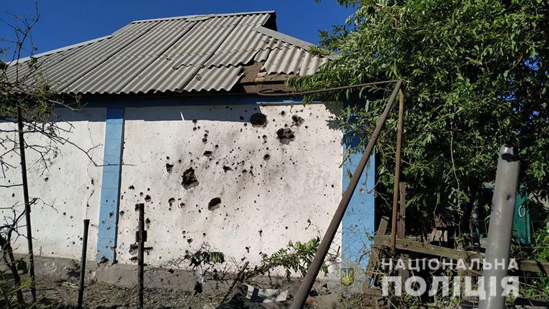 Боевики обстреляли жилые кварталы Авдеевки / фото mvs.gov.ua