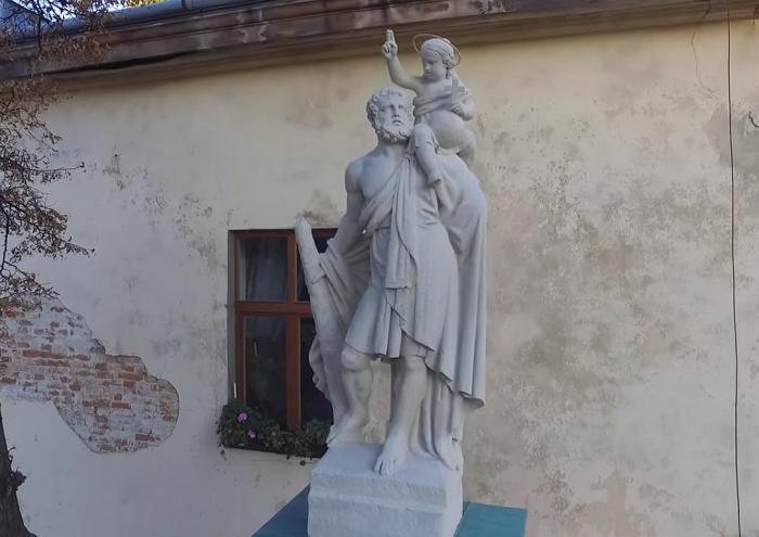 Колона святого Христофора / Фото wikimapia.orgКолона святого Христофора / Фото wikimapia.org