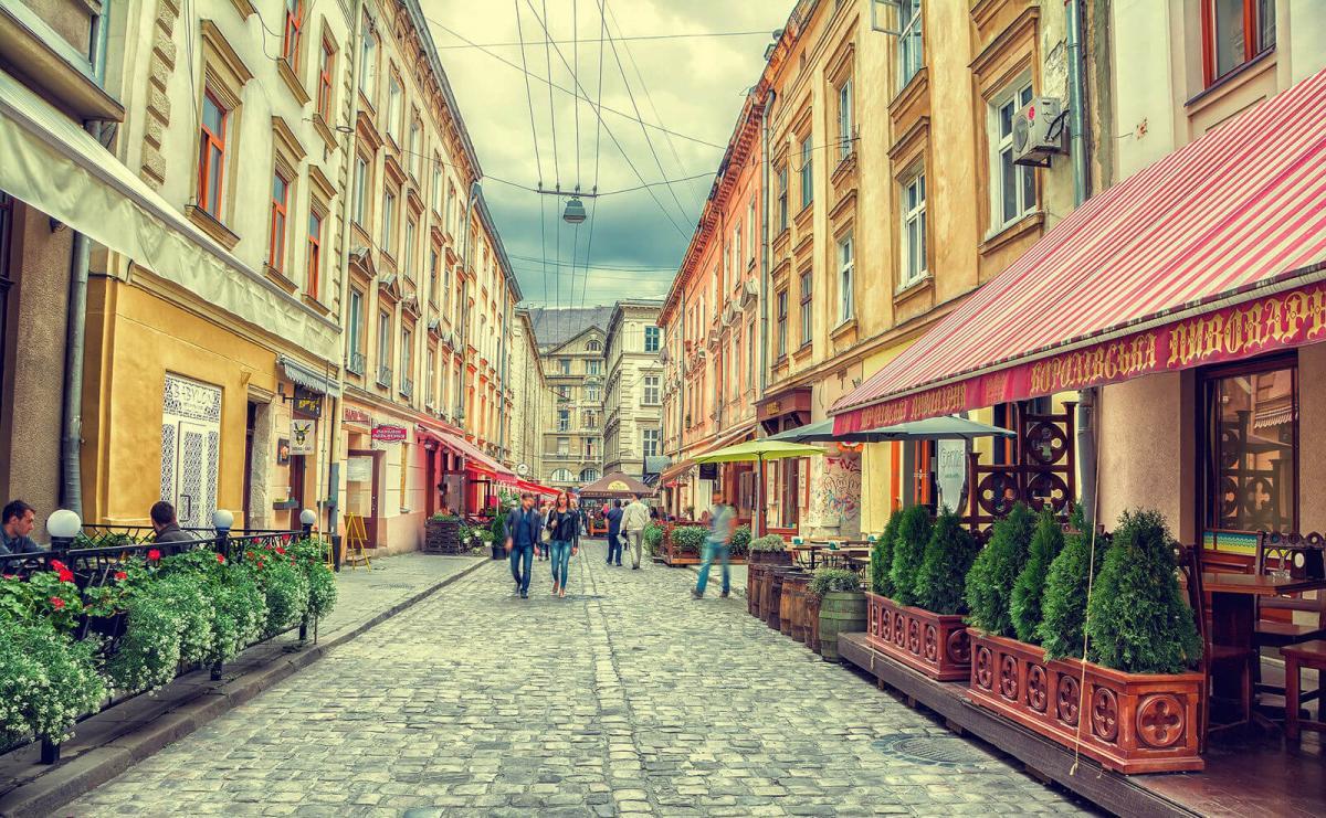 Вулиця Лесі Українки – наймальовничіша у Львові / Фото google.com