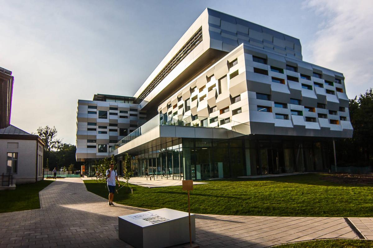 Футуристичний центр Митрополита Шептицького у Львові / Фото lviv1256.com