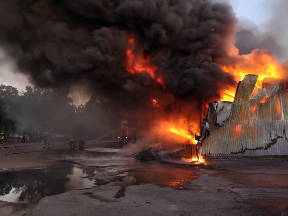 Предварительная причина - нарушение правил пожарной безопасности / фото dsns.gov.ua