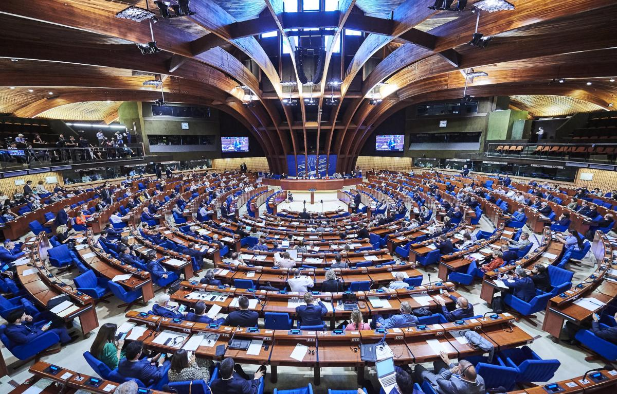 The document assesses the events in the neighboring country / Photo from the Council of Europe /Candice Imbert