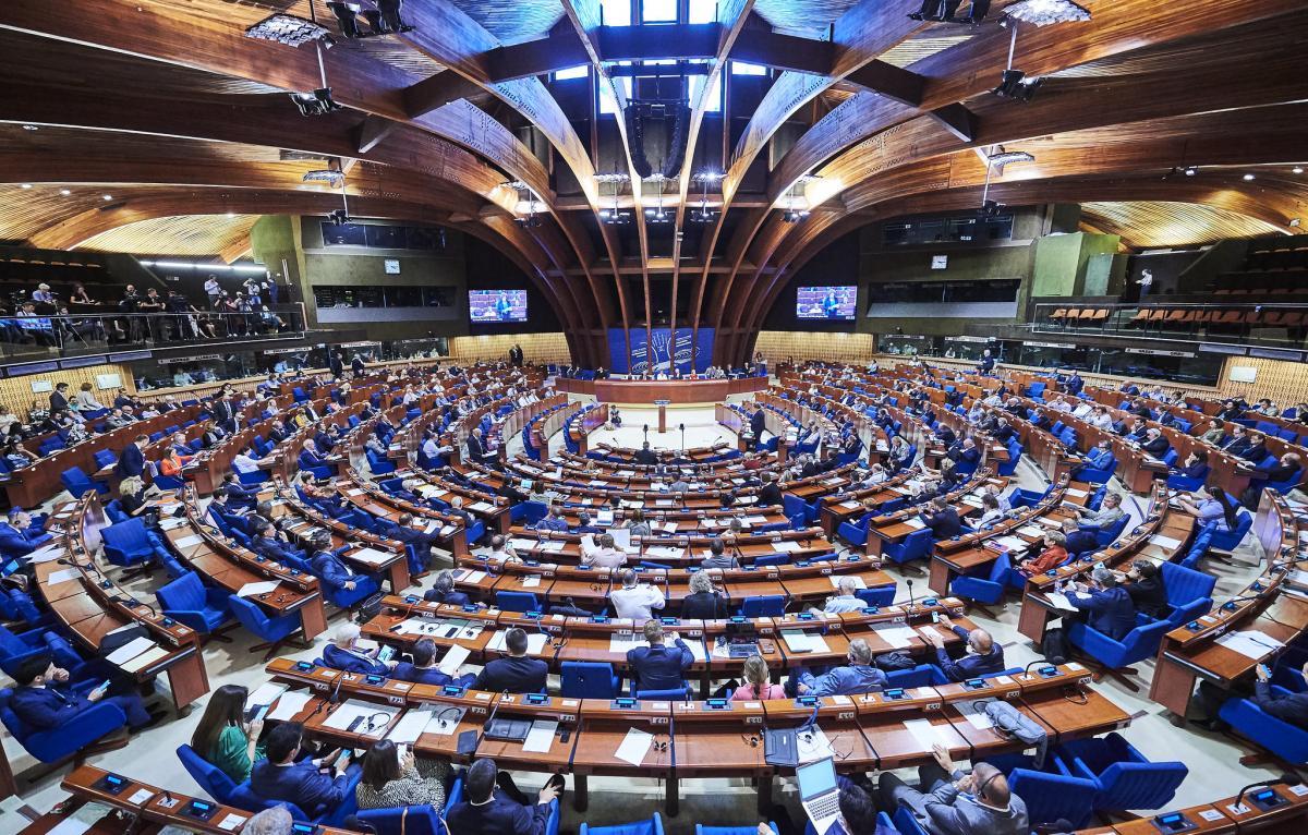 По мнению Разумкова, возвращение российской делегации в ПАСЕ - очень опасный прецедент / фото Council of Europe/ Candice Imbert