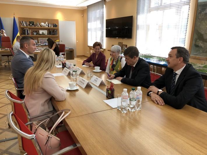Кличко подякував Мун за підтримку України