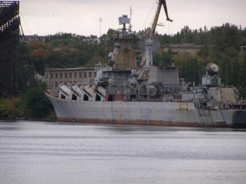 Полторак заявил Зеленскому о необходимости демилитаризировать недостроенный крейсер «Украина» / wikipedia.org