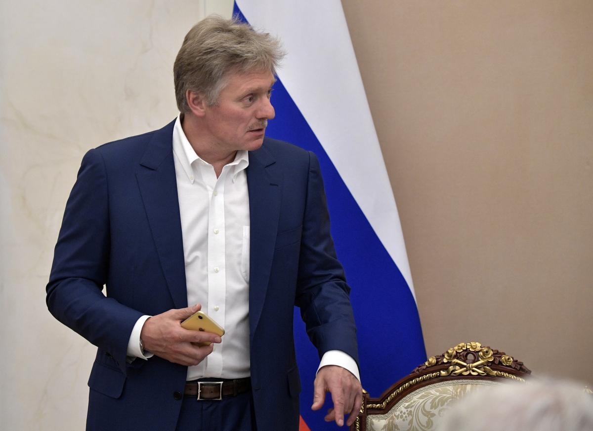 """Песков заявил, что план Украины по Донбассу """"расходится""""с Минскими соглашениями / REUTERS"""