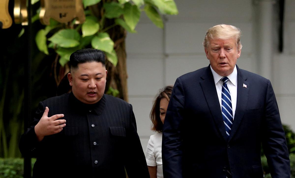 Дональд Трамп и Ким Чен Ын / REUTERS