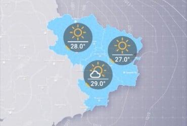 Прогноз погоди в Україні на п'ятницю, день 14 червня