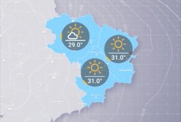 Прогноз погоди в Україні на четвер, день 20 червня