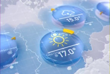 Прогноз погоди на вівторок, 25 червня