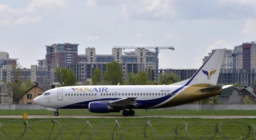 Авіакомпанії YanAir поновили дозвіл на польоти