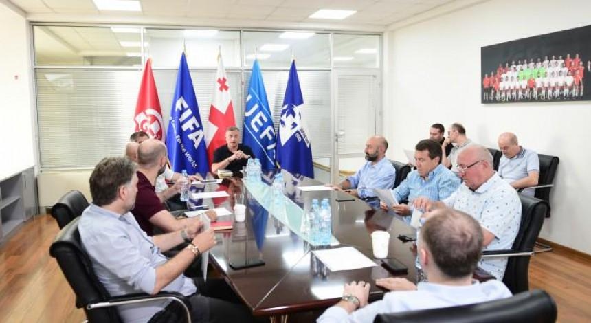 Наказания футболистов не будет: Федерация футбола Грузии поддержала акцию против России