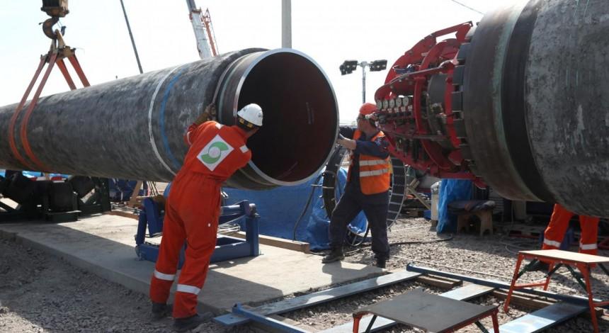 """Первая нитка """"Северного потока-2"""" заполнена газом - Nord Stream 2 AG"""