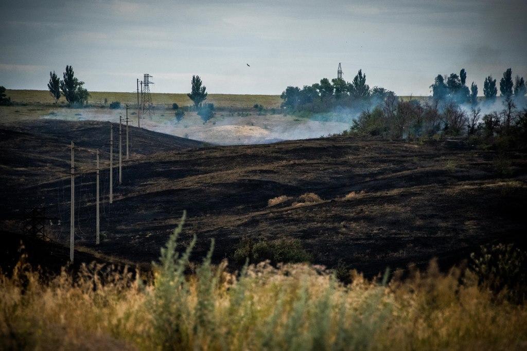 Боевики обстреливали восточную и северную позиции / Штаб ООС