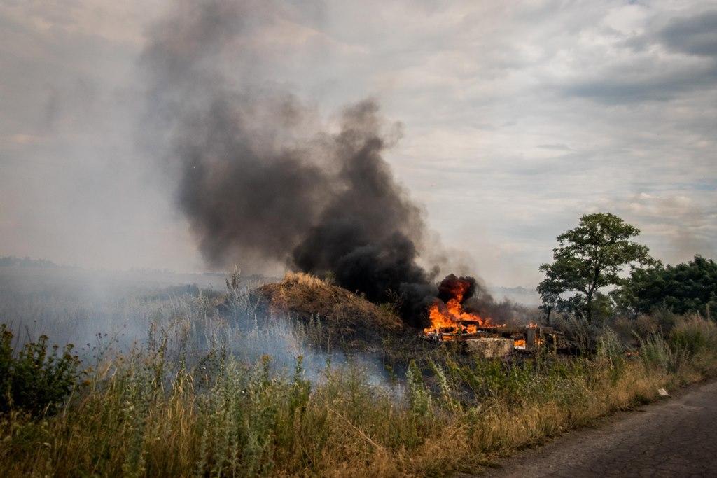 У СтаниціЛуганській провели технічне обстеження з обох боків дороги/ ООС