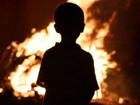 Дети стали жертвами пожара в Горловке / фото facebook.com/MNS.GOV.UA