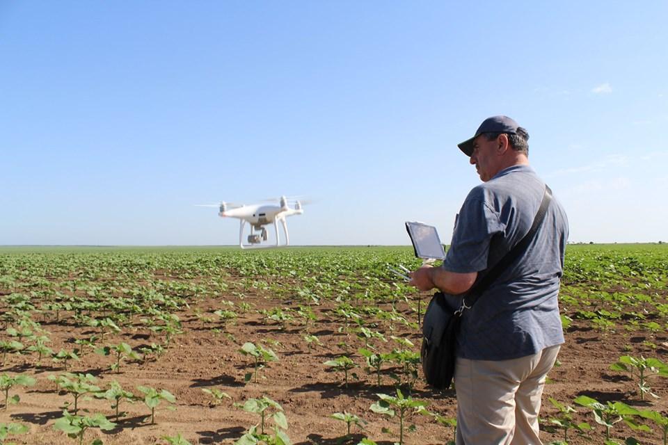 Дроны являются помощниками фермера в поле, которые позволяют увидеть картинку свысока / УНИАН