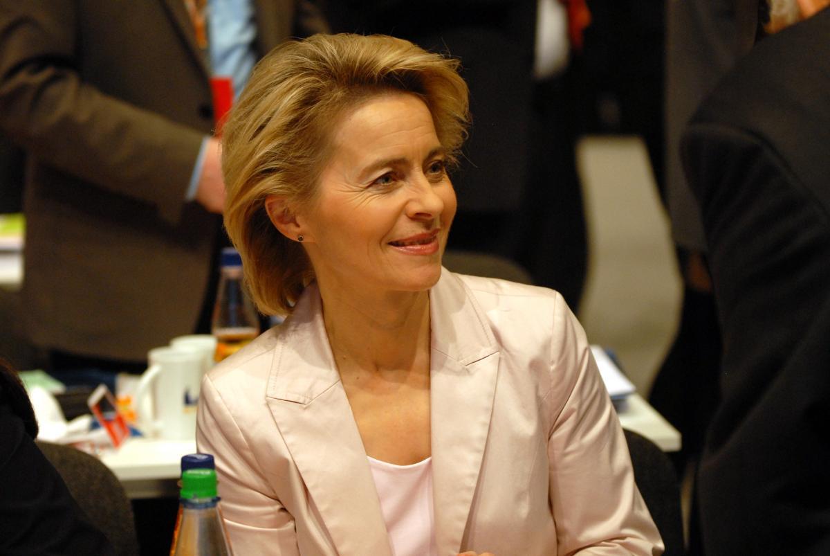Президент Еврокомиссии Урсула фон дер Ляйен / Фото wikipedia.org