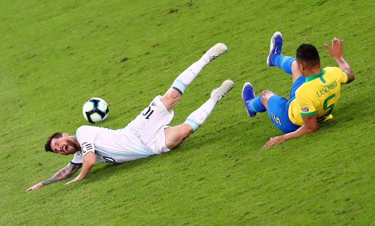 Бразилия - Аргентина / REUTERS