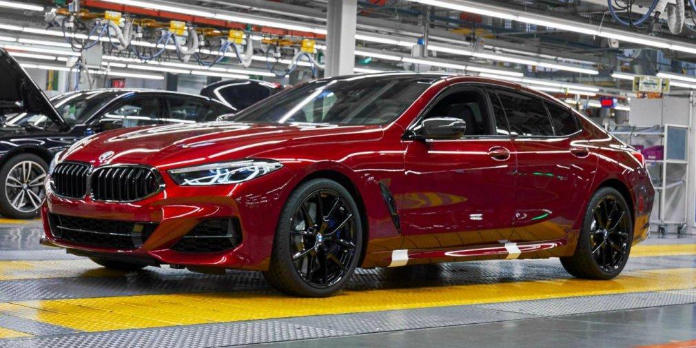 Варіант Gran Coupe став третім представником сімейства 8-Series / фото BMW