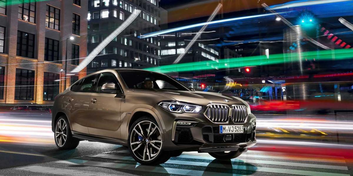 BMW X6 вийде на ринок в чотирьох модифікаціях / фото BMW