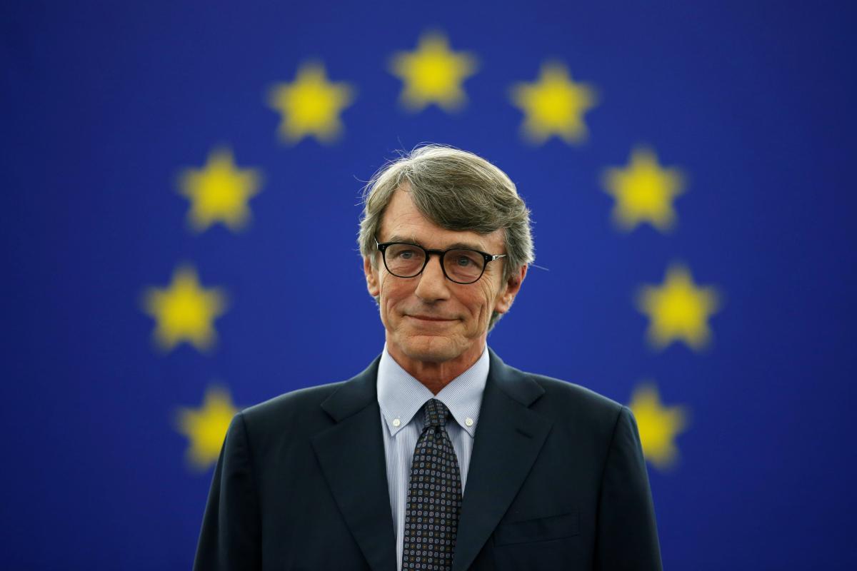 Давид Сассоли видит страны с Западных Балканов в составе ЕС / фото REUTERS