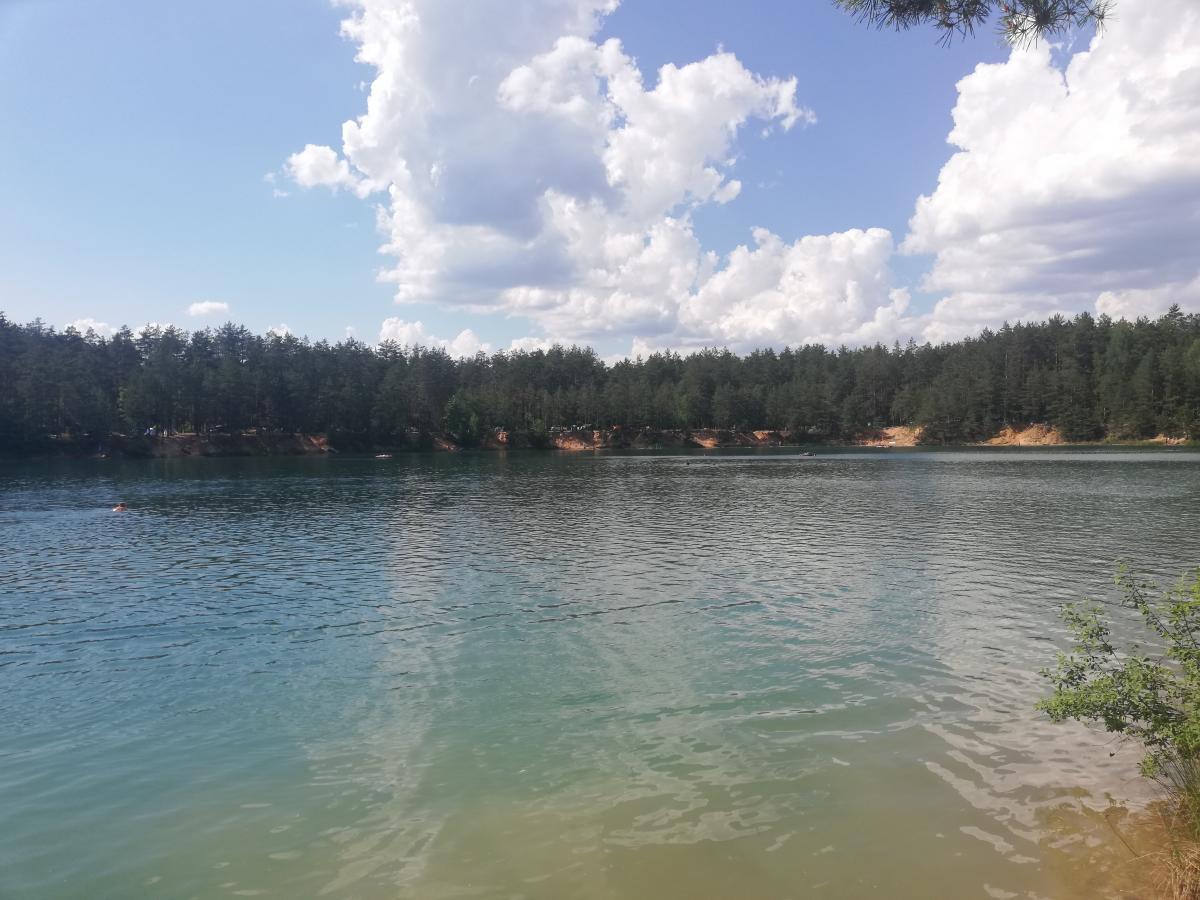 Голубые озера в селе Олешня в Черниговской области / фото Марина Григоренко