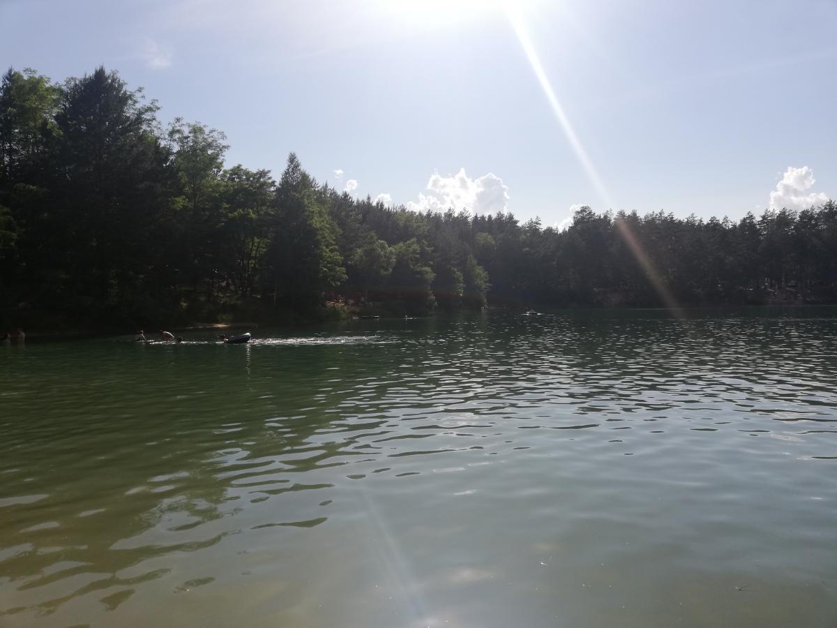 На втором озере - тоже отлично можно отдохнуть / Фото Марина Григоренко