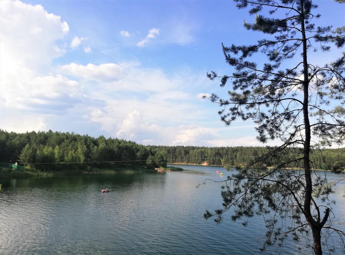 Первое Голубое озеро - самое популярное и самое облагороженное / Фото Марина Григоренко