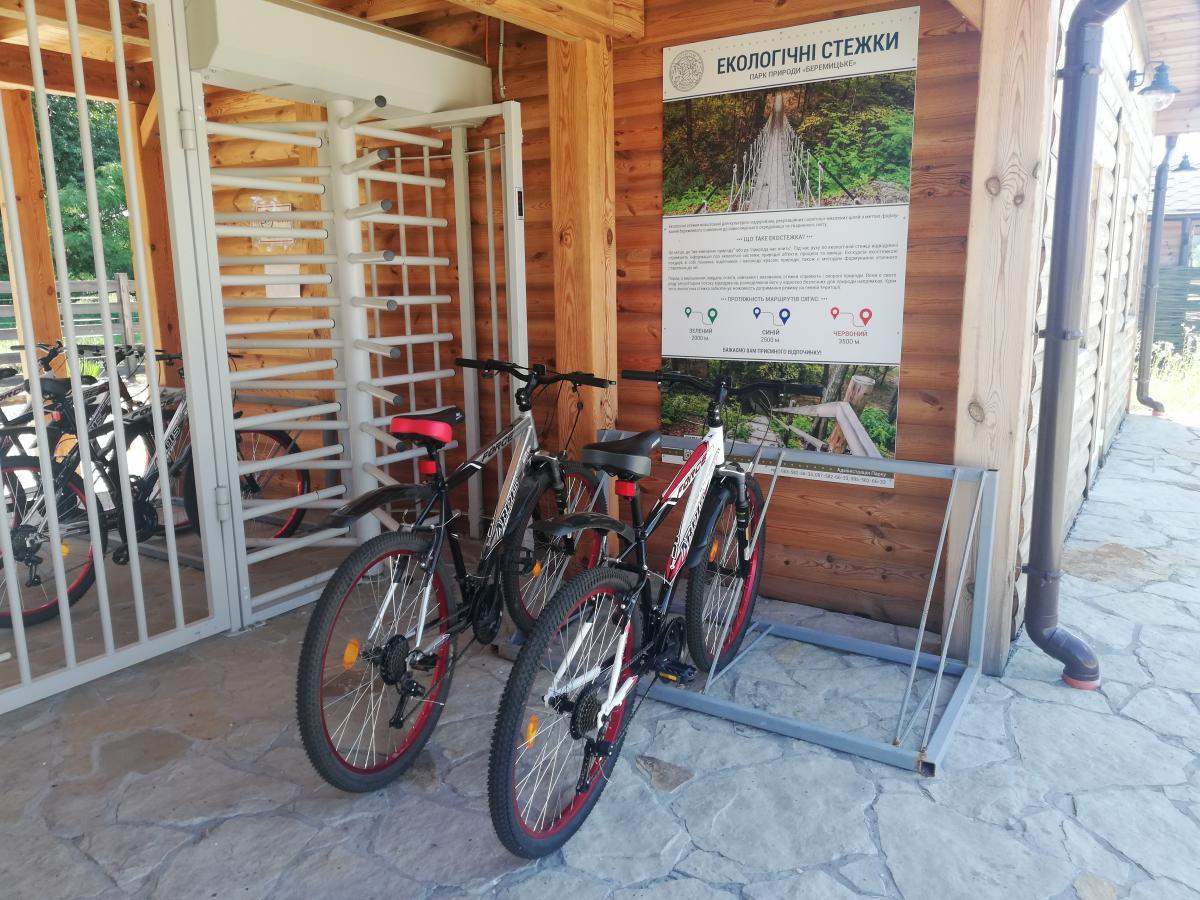 В парке даже можно арендовать велосипед / Фото Марина Григоренко