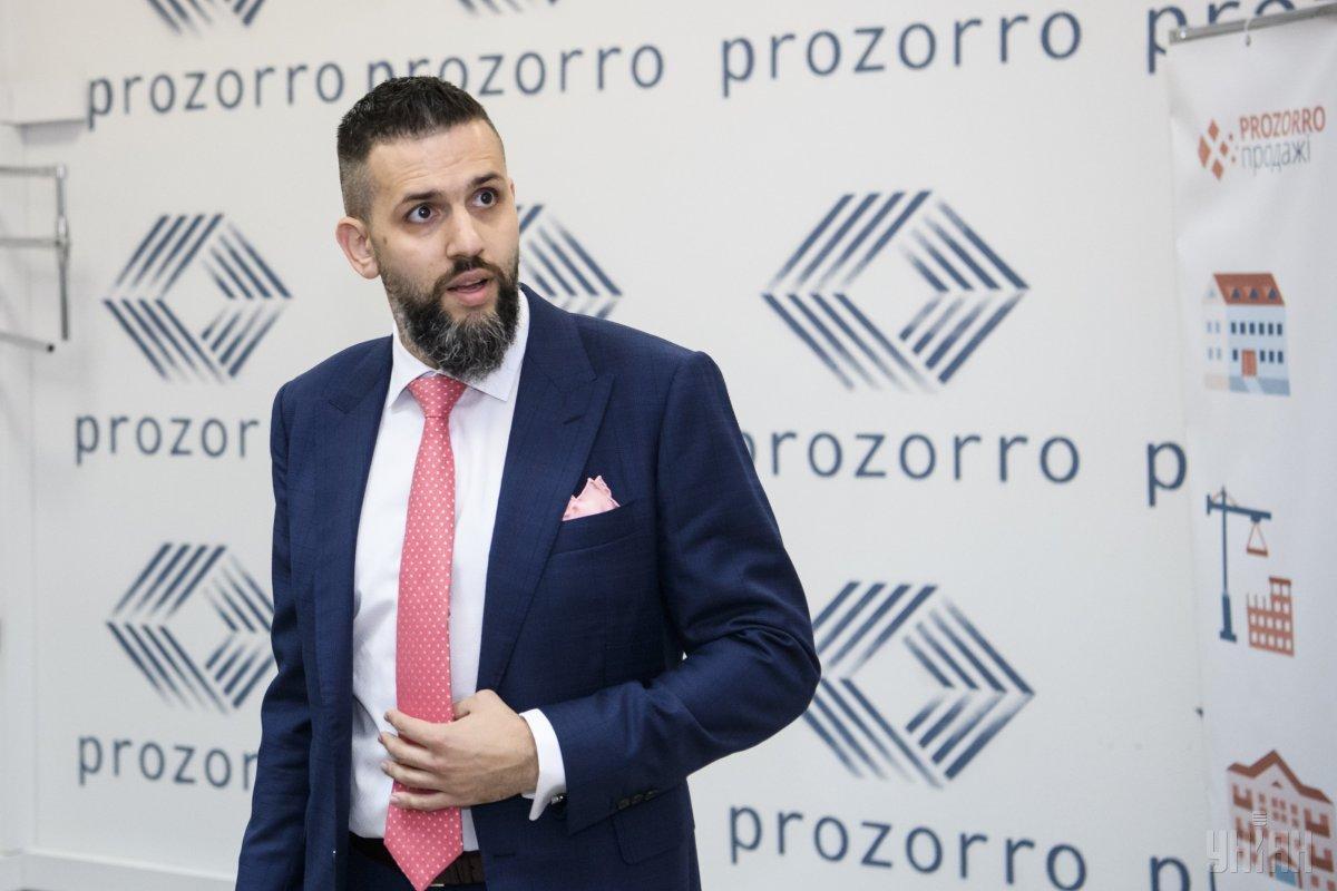 Нефедов причастен к успешному запуску системы электронных госзакупок Prozorro / фото УНИАН