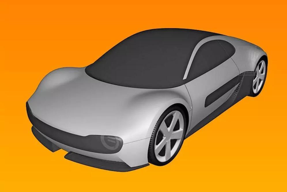 Компания Хонда запатентовала спортивный электрокар