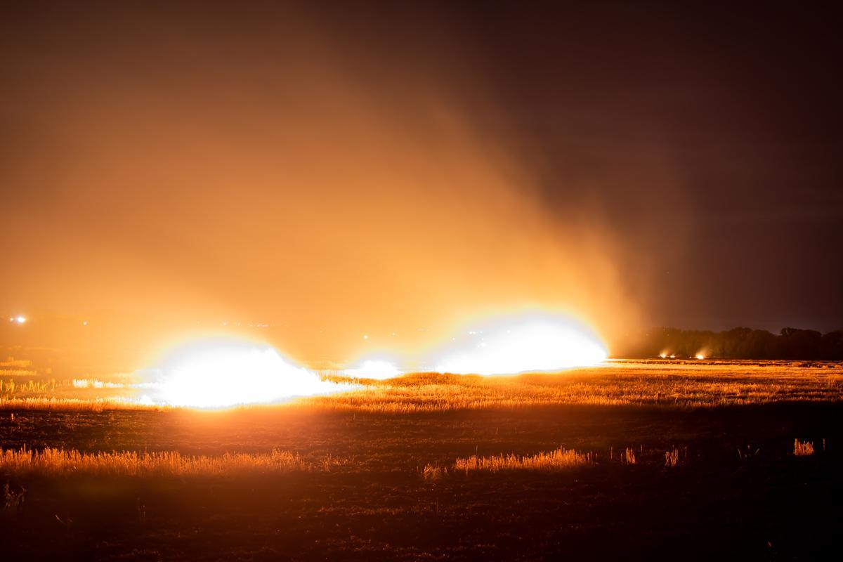 Пожежа знищила понад 3 гектари поля / фото Інформатор