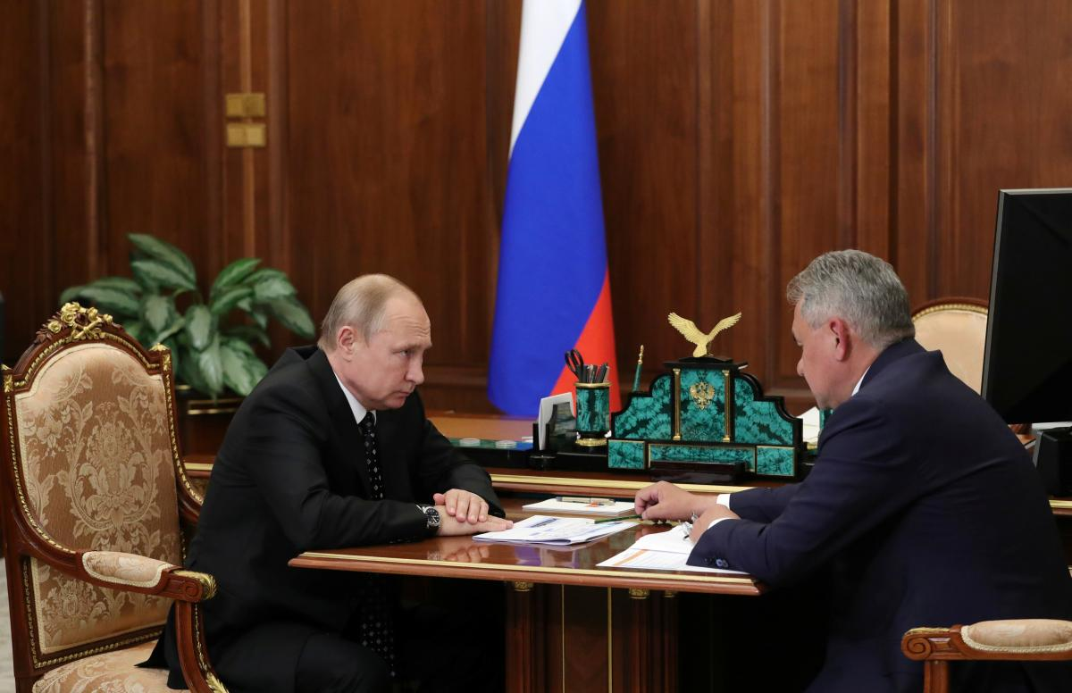 Путин и Шойгу вместе ездят в Сибирь/ REUTERS
